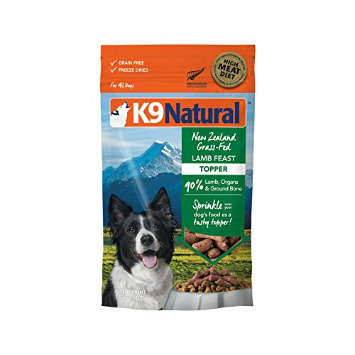 K9 Natural Freeze Dried Topper Lamb 5oz