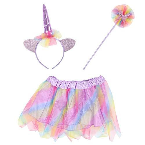 Thingimijigs Disfraz de Unicorn Princess Tutu, Conjunto de Diadema ...