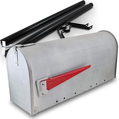 US Mailbox Amerikanischer Briefkasten Standbriefkasten Wandbriefkasten Letterbox Beton Optik Inclusive Standpfosten