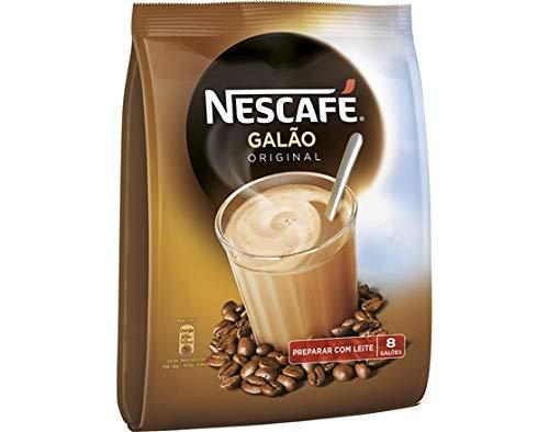 Nescafé, Galão Original, Kaffeegetränk mit Milch, Aus Portugal, 8 Tütchen