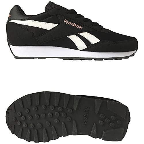 Reebok Rewind Run, Zapatillas de Running Mujer, NEGBÁS/Blanco/BLUSMT, 39 EU