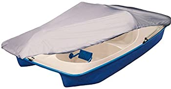 iCOVER Pedal Boat Cover Fits 3 or 5 Person Pedal Boat Water Proof Heavy Duty Boat Cover Grey