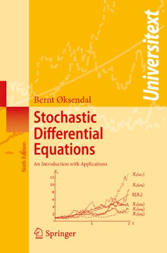 Compare Textbook Prices for Stochastic Differential Equations: An Introduction with Applications Universitext 6th Edition ISBN 9783540047582 by Oksendal, Bernt