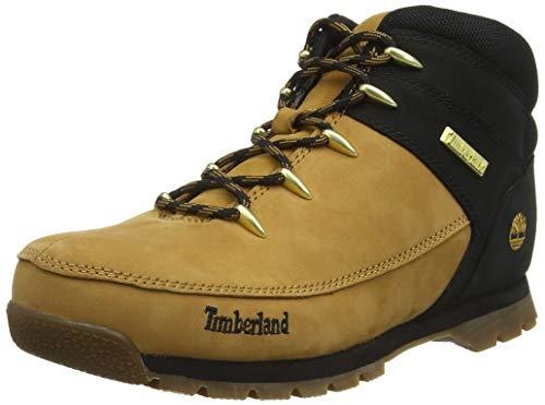 Timberland Unisex-Kinder Euro Sprint Trekking-& Wanderhalbschuhe, Braun (Wheat Nubuck P01), 22 EU
