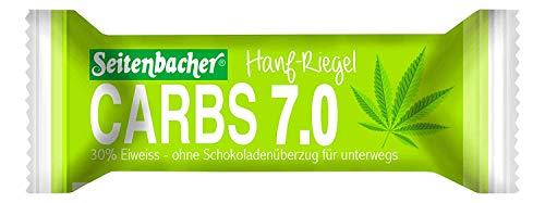 Seitenbacher Carbs 12.0 Hanf Riegel - mehr Protein / wenig Kohlenhydrate , 50 g