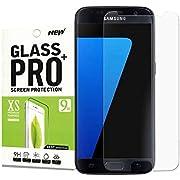 [2 Stück]für Galaxy S7 Panzerglasfolie Displayschutzfolie,OMGTech[9H Härte][ HD Anti-Öl][Kratzer][Fingerabdruck][Einfaches Anbringen] Schutzfoliefür Samsung Galaxy S7