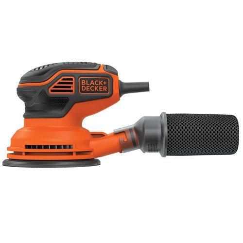 Black + Decker BDERO600 Random Orbit Sander with Paddle Switch Actuation