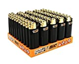 BIC Mini Gold Lighters Pack of 50