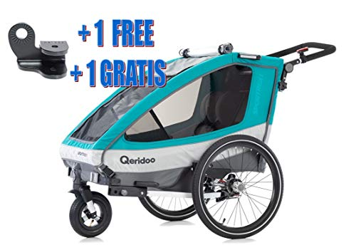 "Qeridoo buggyrad 8,5/"" complet avec fourche à partir de 2017-kidgoo et Sportrex"