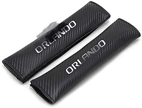 Juego de 2 piezas Chevrolet Orlando.funda de cinturón de seguridad de fibra...