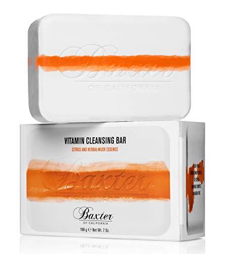 Baxter of California Vitamin Cleansing Bar – Citrus & Herbal Musk