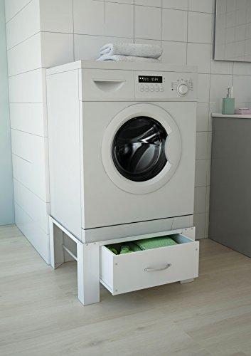 respekta WAERHOEHUNGSCHUB Waschmaschinenerhöhung, Stahl