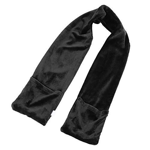 Bnineteenteam Elektrische warme erhitzte Schal-Schal-Ansatz-Schulter für Büro und Haus im Winter(schwarz)