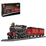 SENG Juego de construcción de tren tren tren locomotora 789 piezas tren tren tren tren tren tren tren con carro y rieles, compatible con Lego