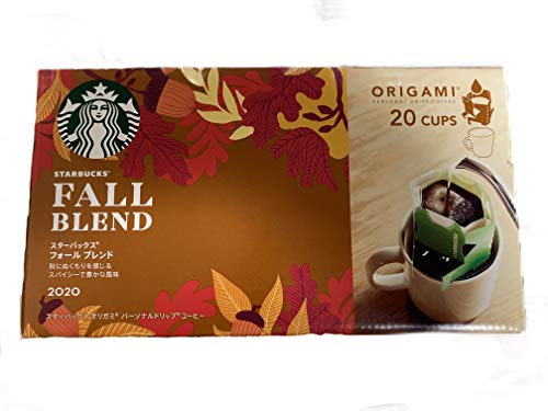 スターバックス オリガミ(R) パーソナルドリップ(R) コーヒー フォール ブレンド 20袋