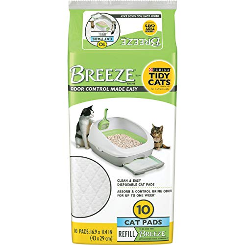 Purina Tidy Cats Cat Pads BREEZE Refill Pack  6 10 ct Pouches 112 lb