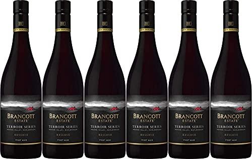 Brancott Estate Terroir Series Pinot Noir Rotwein Wein trocken Neuseeland (6 Flaschen)