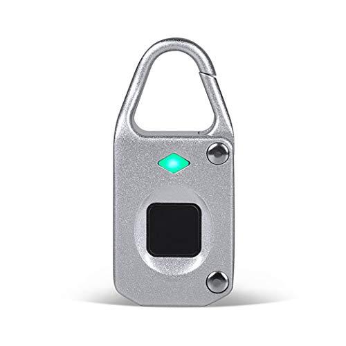 AIBOTY Cerradura de Seguridad portátil Impermeable de la Huella Dacti