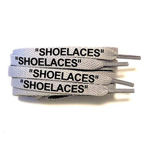[KICKSROCK] SHOELACES (160cm, グレー)