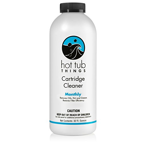 Hot Tub Things Spa Cartridge Cleaner 32 Ounce - Designed for...