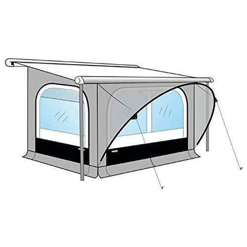 Thule Markisenzelt QuickFit M Anbauhöhe 225-244cm Wohnwagen Vorzelt Länge 350cm Markisenwand Caravan