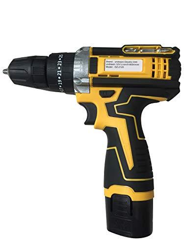Drill/Driver Kit, undreem Drill Set 12V Max Drill 280 In-lb Torque