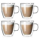 Tazas de café de Doble Envoltura térmica para té y Bebidas...