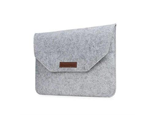 QWhing Handig Mode Vilt Tablet Tas Binnenzak Beschermhoes 11-12 Inch MAC/Ipad Air Laptop Opslag