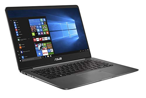 Asus Zenbook UX3430UQ-GV010T 35,5 cm (14 Zoll FHD matt) Laptop (Intel Core i7-7500U, 16GB RAM, 256GB SSD, Nvidia GeForce 940MX, Win 10) grau (Generalüberholt)