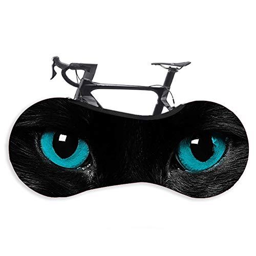 Xinzistar Fahrradabdeckung Wasserdicht Staubgeschützte Fahrradschutzhülle Abdeckung Fahrrad Schutzhülle Aufbewahrungstasche für Mountainbikes Falträder MTB Rennrad(Augen)