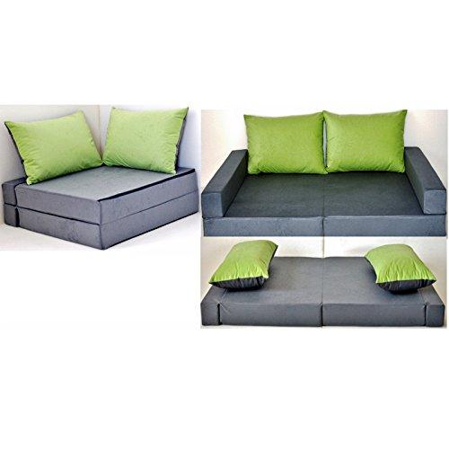 barabike Kindermöbel -  KK A1 grau-grün