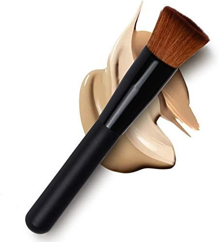 Pinceau Brosse de maquillage professionnel multifonction : fond de teint liquide, anticernes, poudre, Blush.