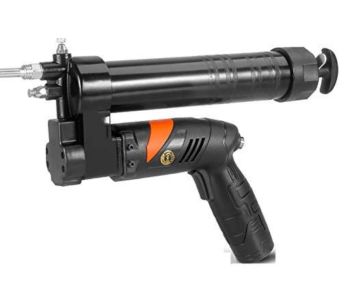 Mgcdd-Car Organizer 24-V-Elektrische Fettpistole, 12000Psi-Hand-Füllpistole, 180 ° Rotierender Griff, Selbstansaugende Wiederaufladbare Fettpistole,Twocharge and one Charge