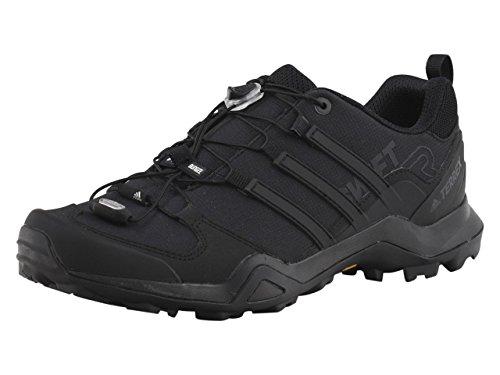 adidas Outdoor Men's Terrex Swift R2 Hiking Shoe, Black/Black/Black, 10.5