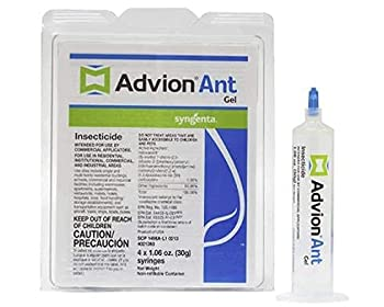 Dupont Advion Ant Gel Bait, 4 Tubes with Plunger: photo