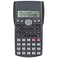 Professional grade scientific calculator with 240 scientific functions. Easily handles 1 and 2 variable statistical calculations, three angle modes (degrees, radians, and grads), and scientific/engineering notation modes 12-digit widescreen HD displa...