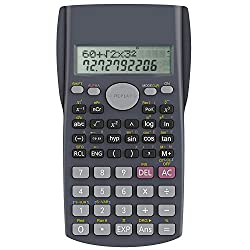 Calculatrice Scientifique, Helect 2 lignes Calculatrice scientifique - H1002