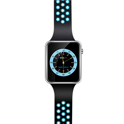 GGOII Smart Wristband Smart Watch Clock M3 1.54 inch Big Screen with Facebook Whatsapp Twitter Sync Notifier Support SIM TF Card VS gt08 A1 DZ09 Rated