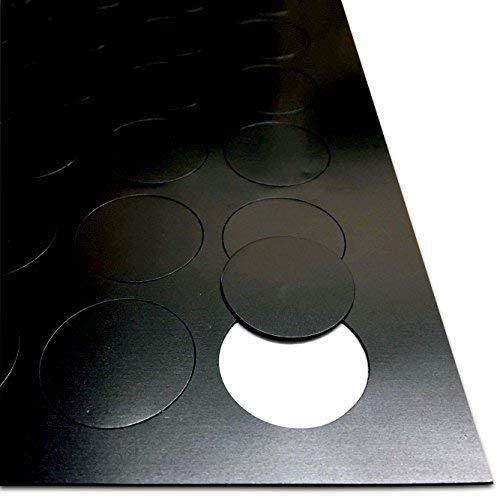 Autoadhesivo Imanes para Manualidades - Magnético Lunares - 30mm Diámetro [0.85mm Grueso] 40 Pack - Ligero manualidades Actividades - Haz Tu Propio Imanes De Nevera
