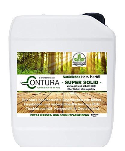 2,5 Liter Holzschutz Holzöl NATUR HARTÖL Möbelöl Pflegeöl Holz- Möbel- Öl Arbeitsplattenöl