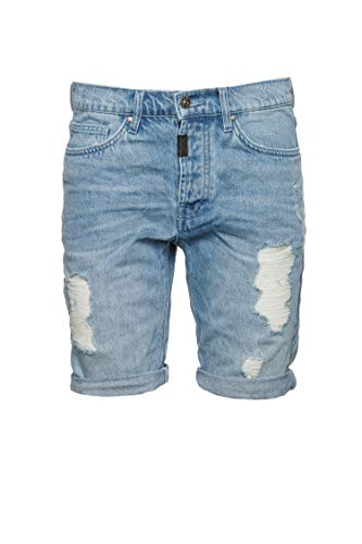 Tigha Herren Shorts Solomon Blau 32
