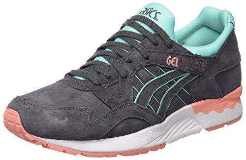 Asics H6R9L - Zapatillas de running mujer, Gris (Dark Grey/Dark Grey), 38 EU