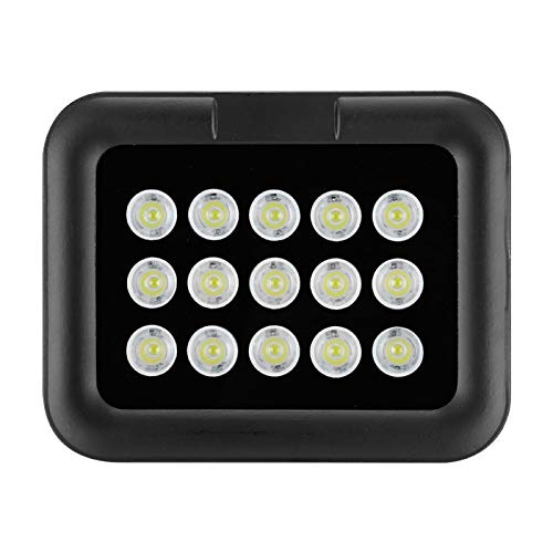 FOLOSAFENAR Sustrato de Aluminio Premium DC12V Luz de Relleno Blanca Luz de vigilancia automática día y Noche, para vigilancia CCTV