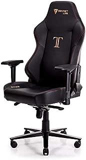 Secretlab Titan 2018 Prime PU Leather Stealth Gaming Chair
