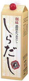 創味 しらだし (濃厚かつおだし) 1.8L