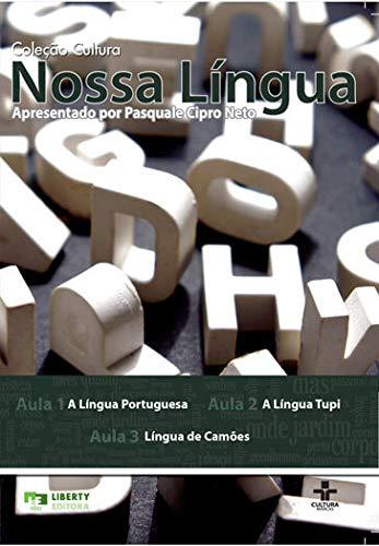 Coleção Cultura Nossa Língua Portuguesa - 18 DVDs + 1 livro - apresentada por Paquale Cipro Neto