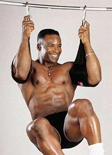RDX Gepolsterte Bauchmuskelschlaufen Gym Accessories, Black, One Size
