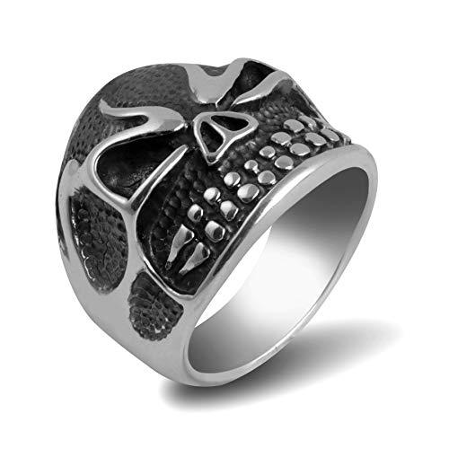 Anillo plata 925 escudo con elementos geométricos tela de araña anillo de plata