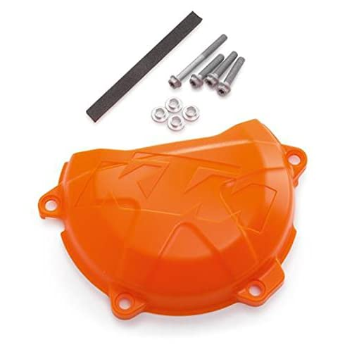 Plastic Right Clutch Case Cover Guard Protector For KTM SXF EXCF XCFW 250 350
