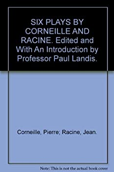 Hardcover Six Plays By Corneille and Racine Edited with an Introduction By Prof. Paul Landis Book